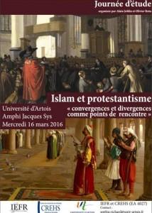 2016.03 - Islam et protestantisme (U. Artois)